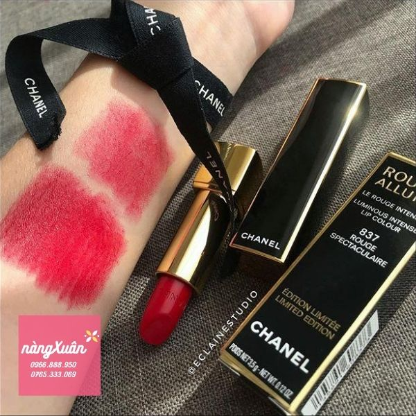 Chanel 837 Rouge Spectaculaire