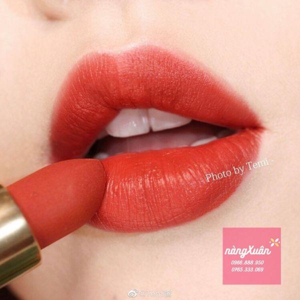 Gucci Rouge A Levres Matte Janet Rust Lipstick là màu gì