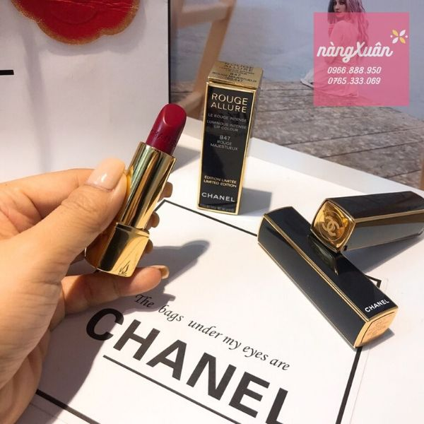 Son Chanel 847 Rouge Limited