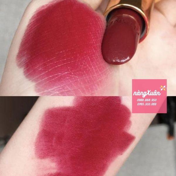 Swatch son CHANEL Rouge Allure Luminous Intense Lip Colour 847