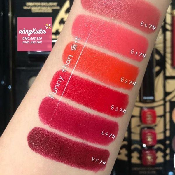Swatch sonChanel Rouge Allure Luminous Intense Lip Colour