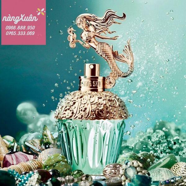 Review Nước hoa nữ Anna Sui Fantasia Mermaid EDTchính hãng