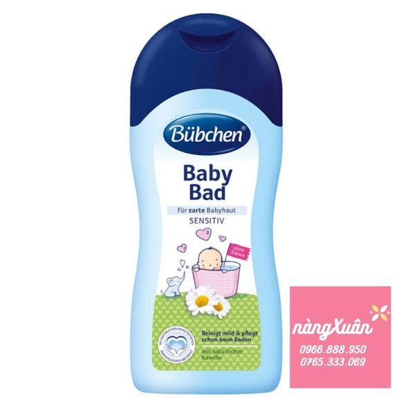 Sữa tắm gội 2in1 cho bé Bubchen Baby Bad1000ml (Đức)