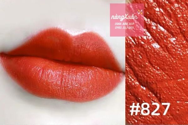 Swatch chanel Rouge Allure 827