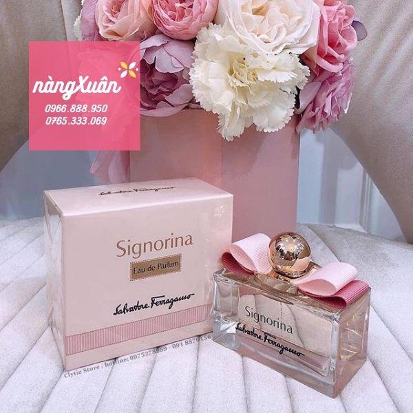 Nước hoa Signorina hồng bao nhiêu
