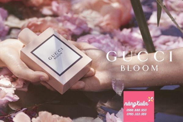 Gucci Bloom EDP bám lâu, toả hương tốt