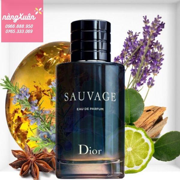 Nước hoa nam Dior Sauvage EDP 100ml chính hãng giá rẻ