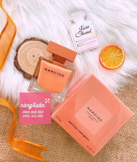 Narciso Rodriguez Ambree EDP 90ml chính hãng bám mùi lâu, tỏa hương tốt