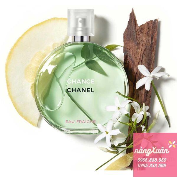 Chanel Chance Eau Fraiche EDT 50ml giá bao nhiêu hàng xách tay chính hãng có sẵn tại Nha Trang Sài Gòn