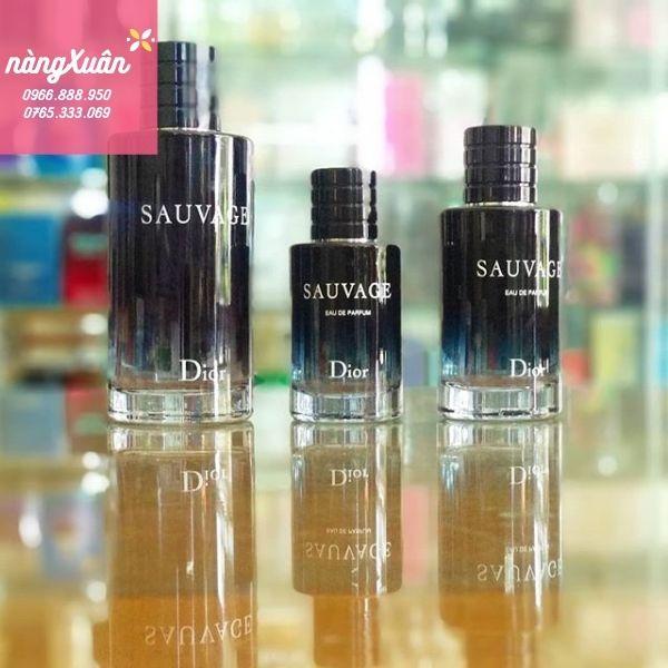 Nước hoa Dior Sauvage EDP 60ml 30ml 100ml chính hãng có sẵn