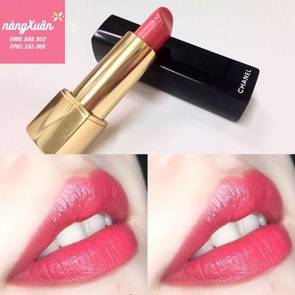 Swatch son Chanel Melodieuse màu hồng baby chính hãng có sẵn