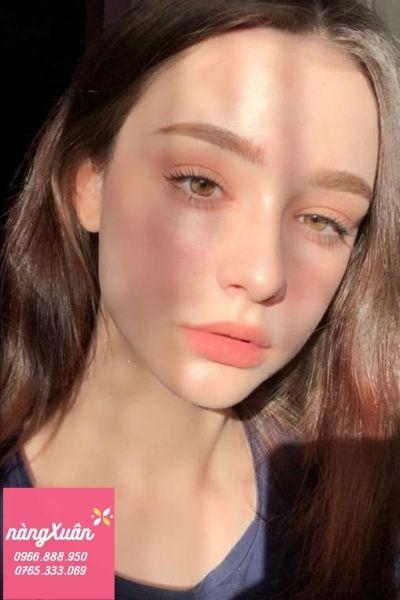 Review Son YSL 51 Corail Urbain Rouge Pur Couture - Màu Cam Sữa