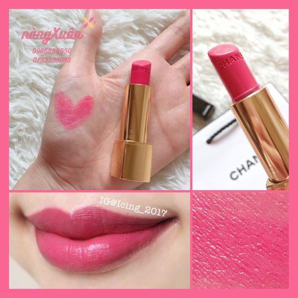 Swatch Son Chanel 138 Fouguese màu hồng tươi chính hãng
