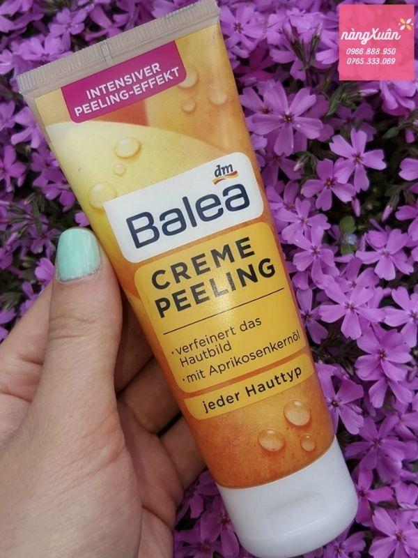 Tẩy tế bào da chết Balea có tốt không ?