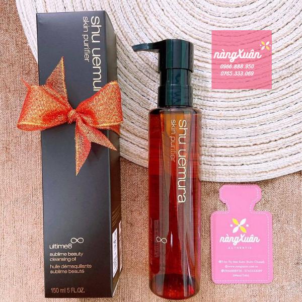 Review Dầu tẩy trang SHU UEMURA Skin Purifier Ultime8 Sublime Beauty Cleansing Oil150ml