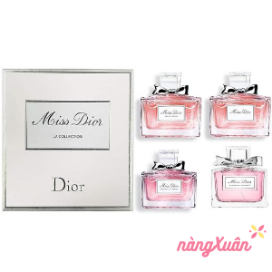 Set Nước Hoa mini MISS DIOR La Collection 4×5ml