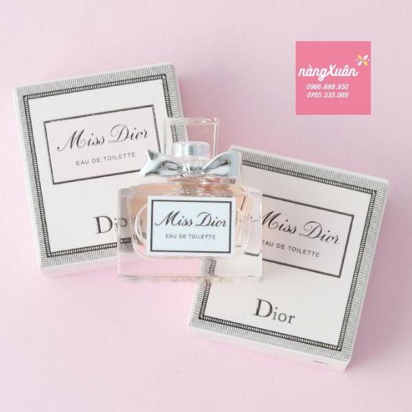 Nước hoa Miss Dior mini EDT 5ml