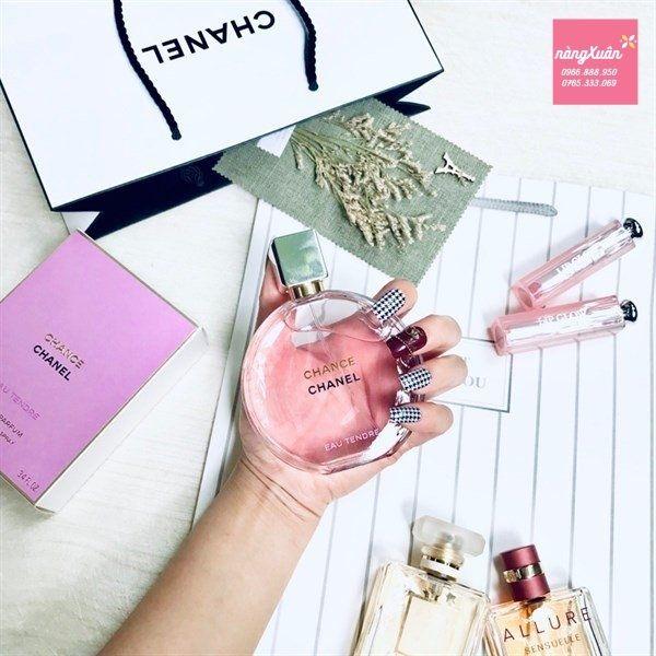 Nước hoa Chance Chanel Hồng Eau Tendre EDP Review