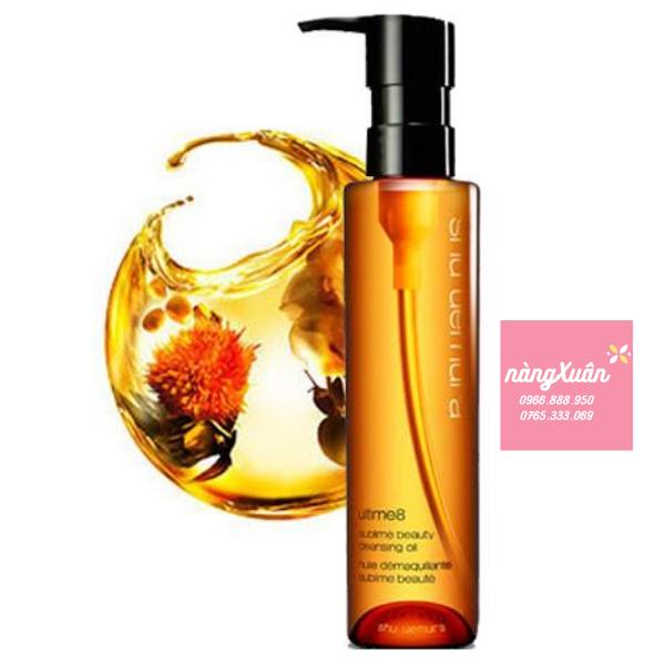 Thành phần của SHU UEMURA Ultime8 Sublime Beauty Cleansing Oil150ml