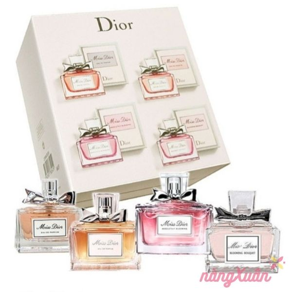 Set nước hoa Dior Miss Dior mini