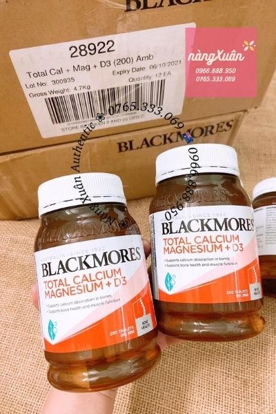 Viên uống bổ xương khớp Blackmores