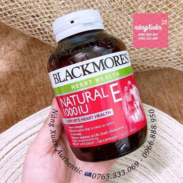 Viên uống bổ sung Vitamin E Blackmores Úc