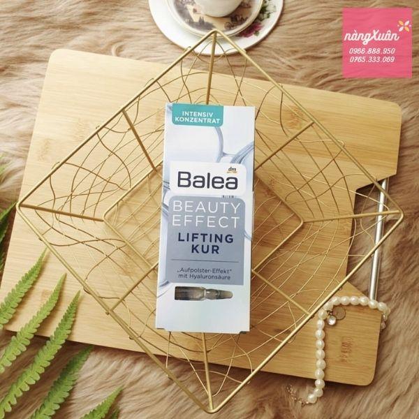 Huyết thanh collagen tươi Balea Beauty Efect Lifting Kur Review