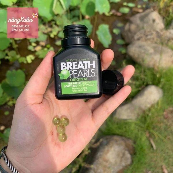 Review Breath Pearls của Úc
