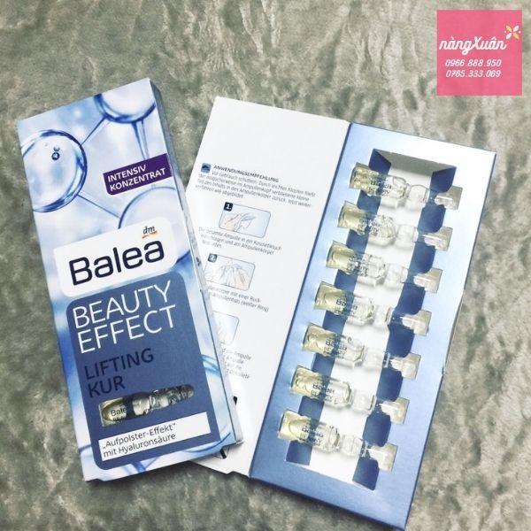Công dụng Balea Beauty Effect Lifting Kur