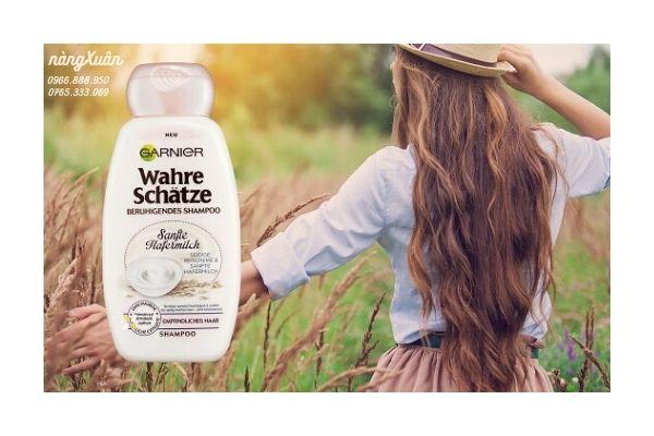 Chiết xuất thiên nhiên dưỡng tóc mềm mại