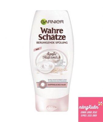 Dầu xả Garnier Wahre Schatze Sanfte Hafermilch sữa yến mạch (Đức)giá bao nhiêu