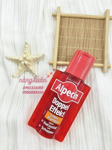 Review Dầu gội mọc tóc AlpecinDoubleEffectCaffeine Shampoo chính hãng nội địa Đức