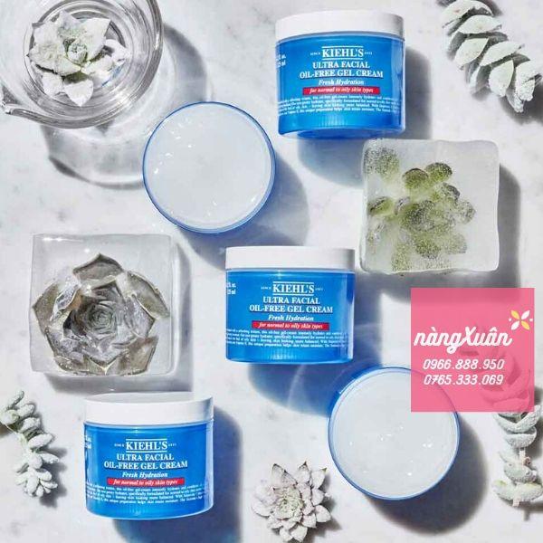 Kem dưỡng ẩm dạng gel Kiehl's Ultra Facial Oil-Free Gel Cream