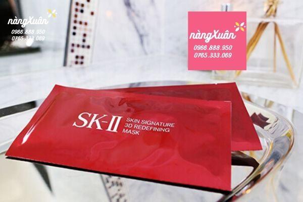 Gia na nang co SK-II Skin Signature 3D Redefing Mask chinh hang noi dia Nhat