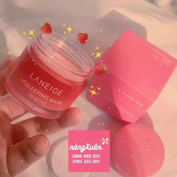 Mặt nạ ngủ môi Laneige Berry Fullsize chính hãng