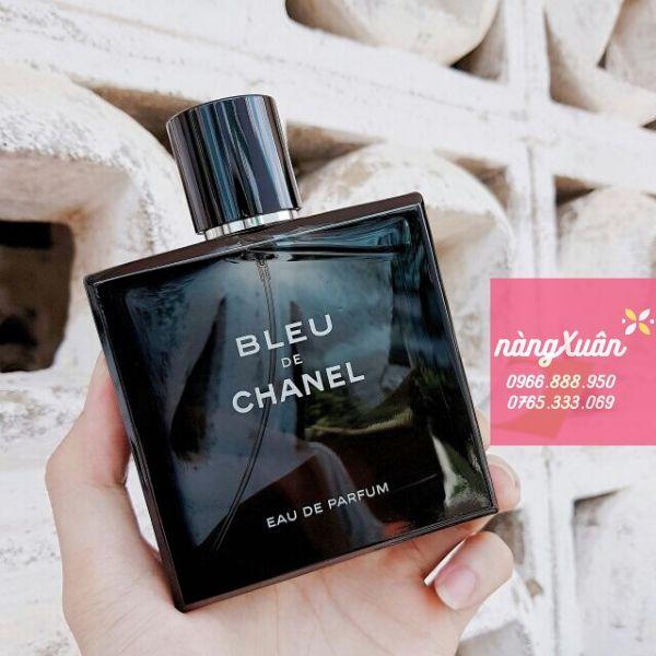 Nước hoa nam Bleu De Chanel 100ml giữ mùi lâu, tỏa hương tốt