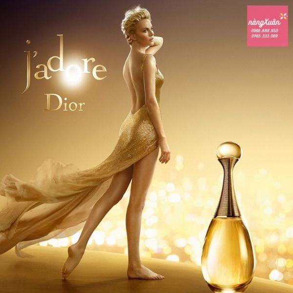 Dior J'adore là hiện thân của người phụ nữ quyến rũ