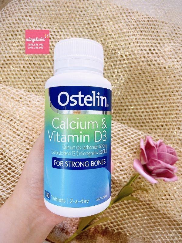 Viên uống Ostelin bổ sung vitamin D3 chính hãng