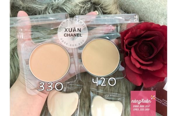 Phan phu nen SK- II Signs Perfect Radiance Powder Foundation 330 va 420