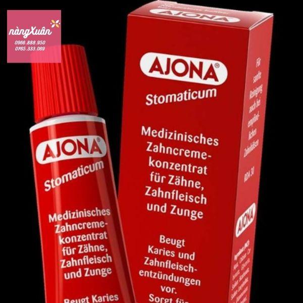 Review Ajona Kem đánh răng trị hôi miệng của Đức