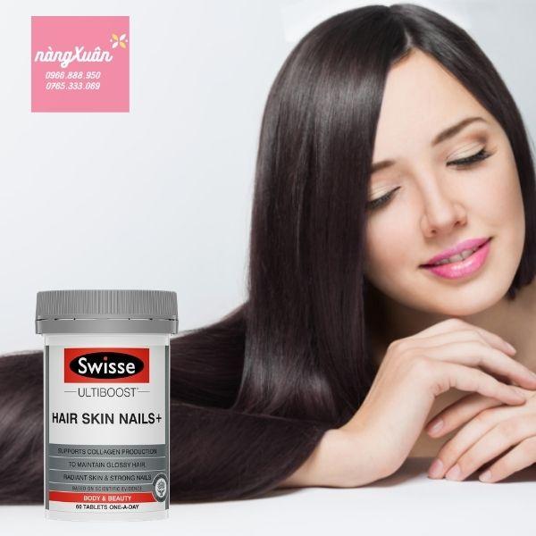 Swisse Hair Skin Nails+ 100 viên