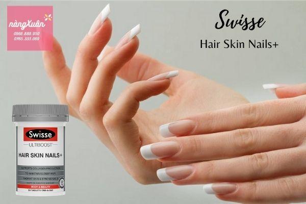 Viên uống Swisse Hair Skin Nails+