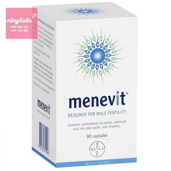 Viên uống Menevit 90 viên chính hãng Úc