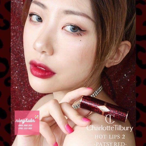 Pasty Red là màu best seller của dòng Hot Lips 2