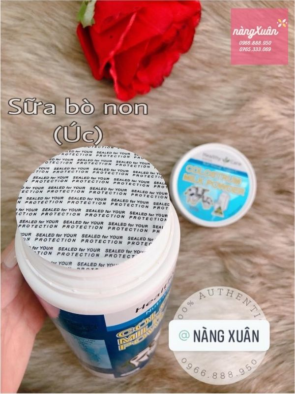 Sữa bò non Healthy Care
