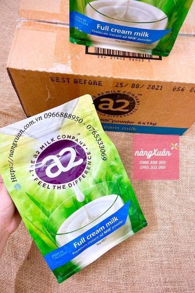 Review Sữa Bột A2 chính hãng Úc