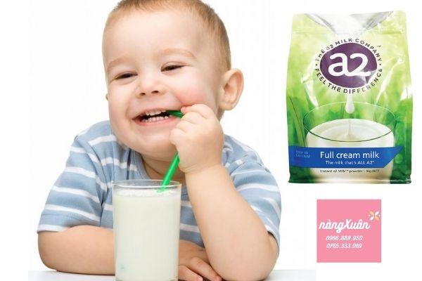 Review Sữa A2 nguyên kem chính hãng