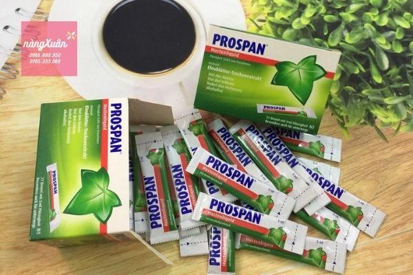 Review công dụng Prospan chính hãng Đức