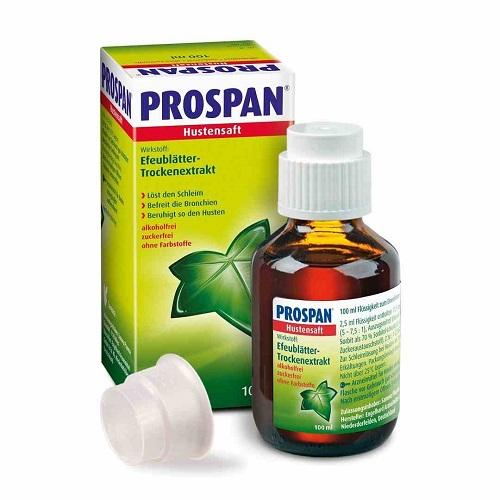 Thuốc ho thảo dược Prospan dạng Siro 100ml (của Đức).