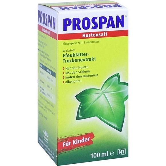 Thuốc ho Prospan chính hãng của Đức 100% có sẵn tại NÀNG XUÂN AUTHENTIC.